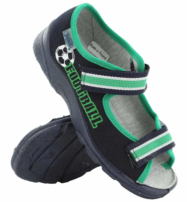 a6b8b02e BEFADO Obuwie dziecięce tekstylne sandały BF-969