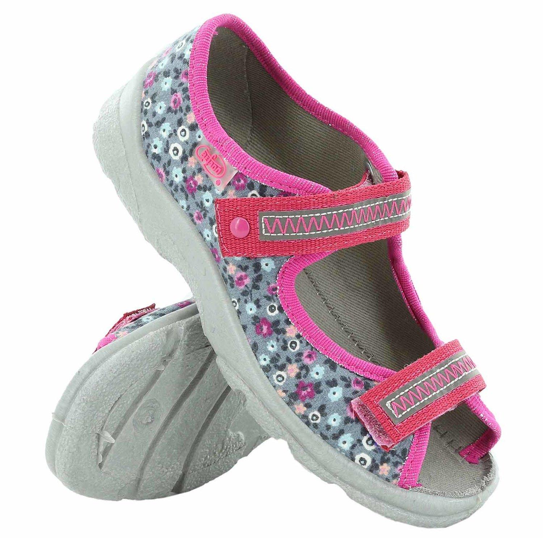 5dc16fa0 BEFADO Obuwie dziecięce tekstylne sandały BF-969