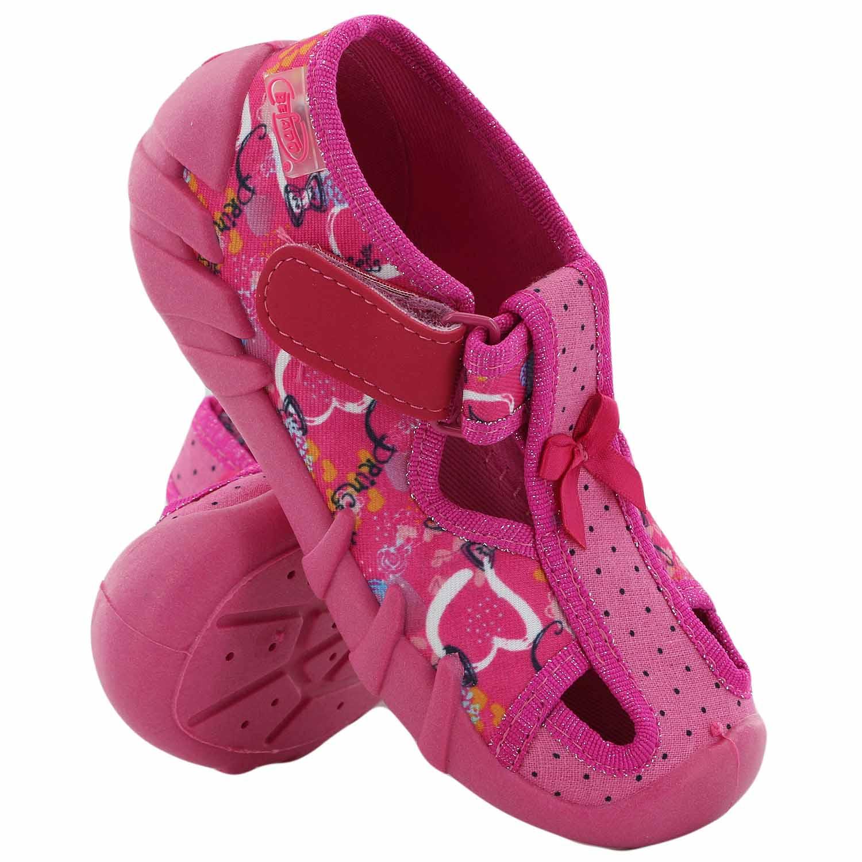2833c2a1 BEFADO obuwie dziecięce tekstylne kapcie BF-190